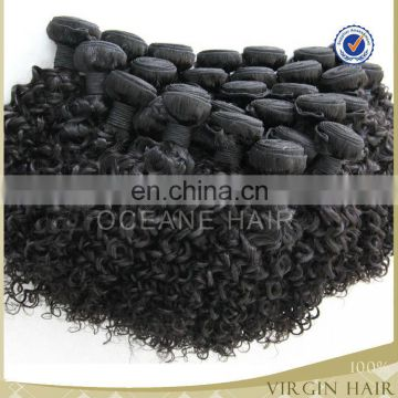 Wholesale cheap unprocessed mink curly Hair extension human remy Brazil Human Hair Virgin Hair Extension