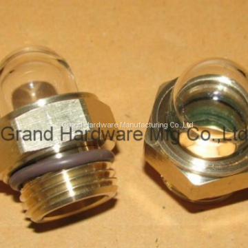 radiator peep sights with standard NPT male pipe threads of