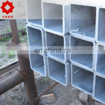 Gi Pre-Galvanized Section Steel Pipe Tube