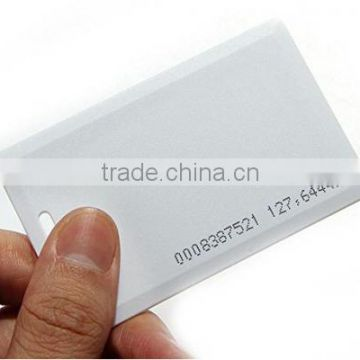 125khz Writable Blank RFID Access Control Cards