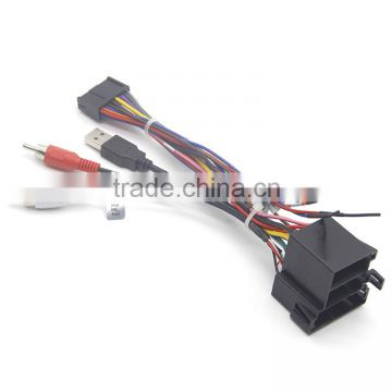 china cool : car stereo radio wire harness plug cable