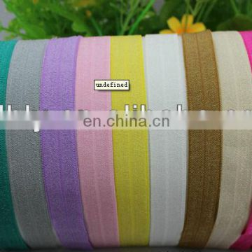 top quality color elastic hair tie