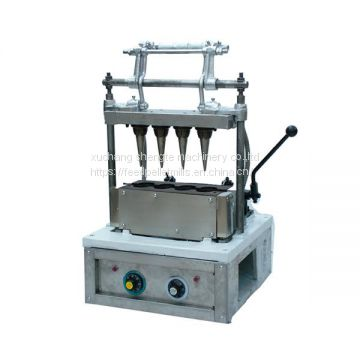 High Quality CM-4 Ice Cream Cone Machine Price, Manual ice cream cone machine
