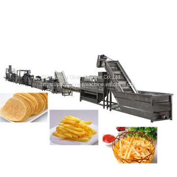 Automatic crisp potato wafer making machine