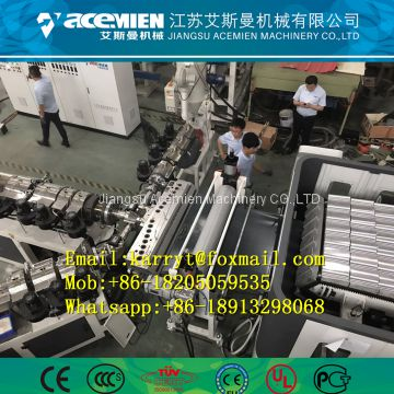 Plastic composite bamboo structure roof sheet production line of
