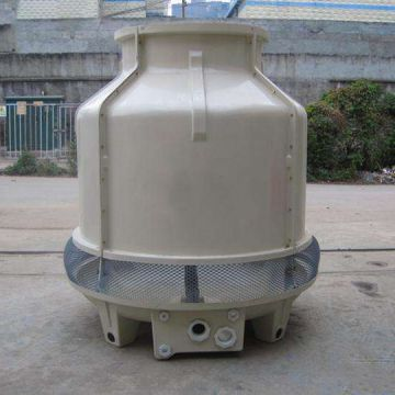 Frp Round Cooling Tower Mist Cooling Tower Energy Saving Chiller Cooling