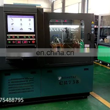 CR738 common rail test bench diesel fuel injector test equipment