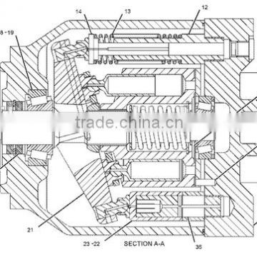 2354108 Hydraulic Pump Dflr 74 Of Piston Pumpmotor From