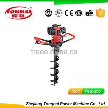 Th Ea520 52cc Gas Powered Post Hole Digger For Tree Transplanting