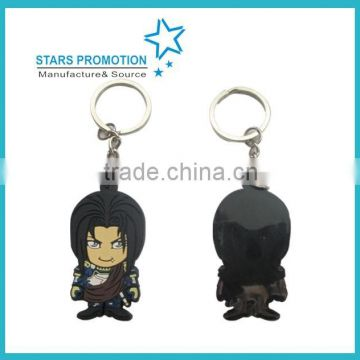 carton character bubber keyring in good price