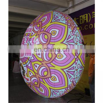 colorful airtight giant tumbler stand egg balloon inflatable for event&party&advertisement