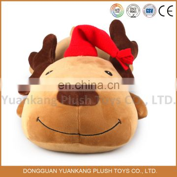 40cm ODM product plush grovel deer toy for christmas