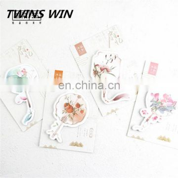Canada 2018 New Decorative kawaii stationery eco friendly paper memo pad Writing sticky notes promotion