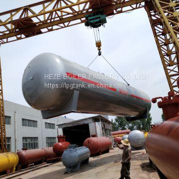 50m3 Standard size LPG storage tanks, 50cbm LPG gas tank of LPG TANK