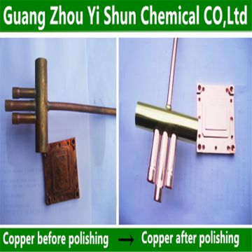 Metal polishing agents Copper polishing agent Electroless polishing process for copper