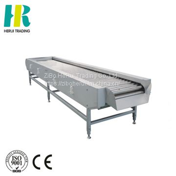 Vegetable sorting machine sorting conveyor for vegetable and fruit stainless steel roller