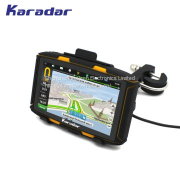 SAT NAV Karadar  MT-5001 IPS screen GPS navigation 1G+8G with AV IN function free map