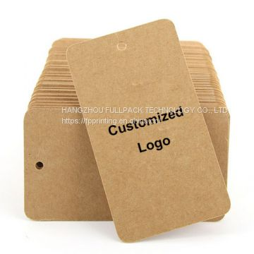 Custom Logo Print Craft Paper Card
