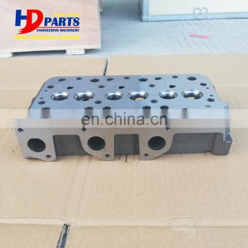 D722 Cylinder Head For Kubota K-008-2 Excavator Engine Parts