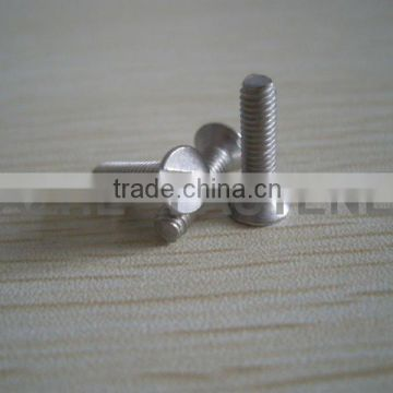 flat head solted machine screws