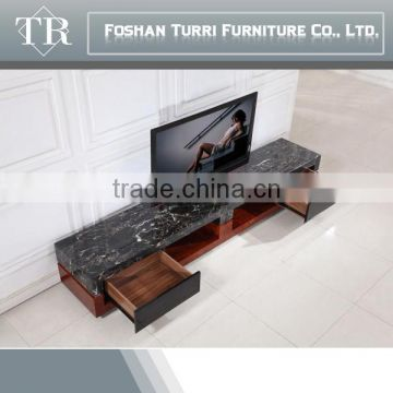 ... Luxury Furniture Modern Italian Marble Travertine Tv Stand ...