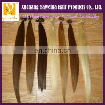 hair extensions india flat tip factory keratin human remy hair wholesale hair