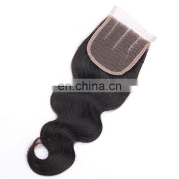Xuchang Hair Factory Wholesale Price Unprocessed silk base Hair Closure, Stock Brazilian Human Hair Lace Closure fast shipping