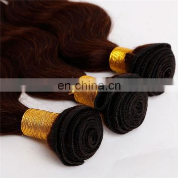 Remy hair grade human hair weavings color #135 body wave remy european hair extensions