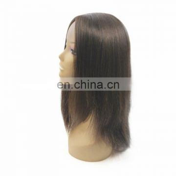 Wholesale aliexpress 100% brazilian human hair silk top jewish wig kosher wigs