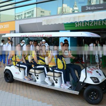 3KW 48V Electric Tour Bus, 12 Seater City Tour Bus for 26TH Summer Universiade| CE Certified | AX-B9