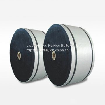 EP rubber Oil resistant conveyor belt for carrying materials including oil and organic solvent