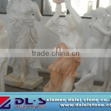Purely Hand Made Marble Women Statue Stone