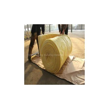 Resin bonded glass wool
