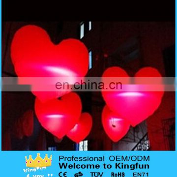 Wedding/valentine's Day inflatable led heart
