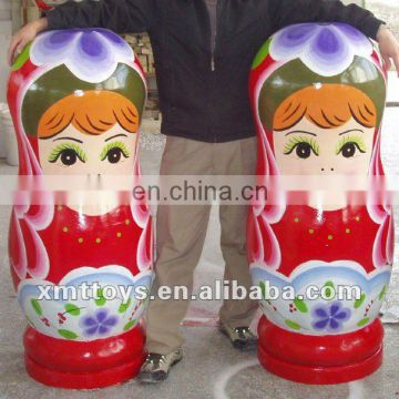 popular custom big nesting dolls