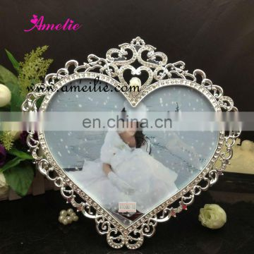 AP9080-10 Wholesale Wedding Fashion Metal Love Heart Photo Frame