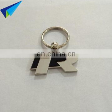 Christmas enamel Logo Metal Keyring/Custom made metal keychain for sales
