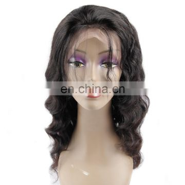 High quality 100% human hair lace frontal wig
