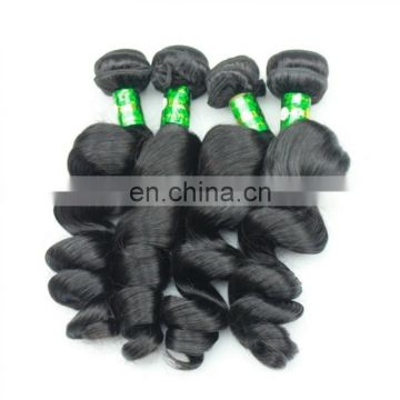 Aliexpress hot sale human hair bundles natural color loose wave hair weft factory direct sale cheap price brazilian hair