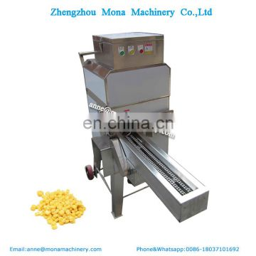 Sweet corn maize threshing machine fresh corn shelling machine in United States