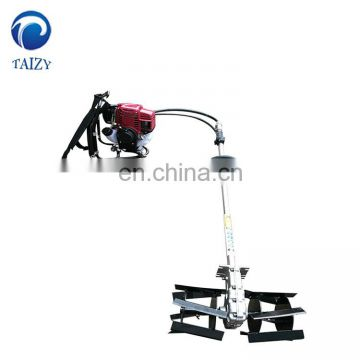 small backpack gasoline engine grass weeder weeding machine