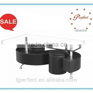 Modern dining room design Hot sale modern glass Coffee table