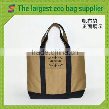 Shoulder Bag Canvas Ecological Cotton Canvas Bags                                                                         Quality Choice