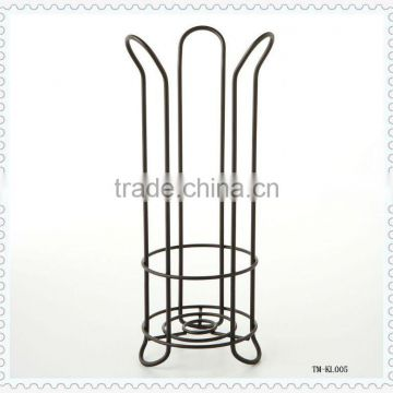 Hot sale iron wire toilet paper holder