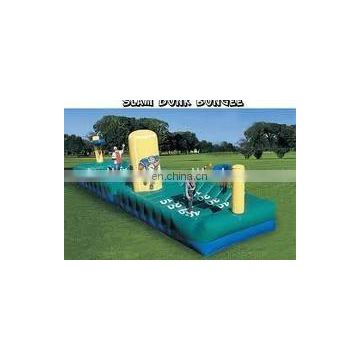 inflatable shoot bungee games