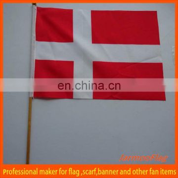 hand held wholesale Switzerland hand flag
