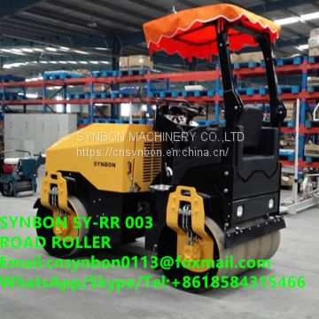 SYNBON Hydraulic, Double Wheel, Vibratory Road Roller,3T