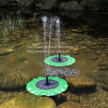Lotus Leaf Solar Water Fountain Pump