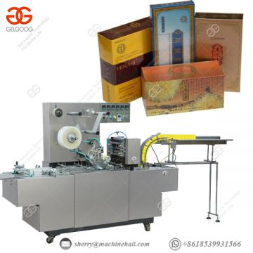 Pallet Stretch Wrapping Machine 40-80boxes/min Dvd Packaging Machine