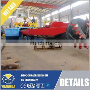 New Condition Hydralulic Cutter suction dredger 8 inch